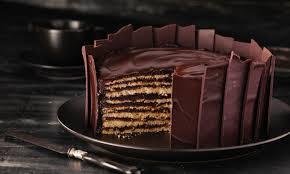 chocolatey dobos torte