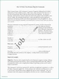 Sample Resume Objectives When Changing Careers Career Change Samples Unique 20 Cv Cover Letter