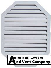 Decorative Gable Vents Products by Functional Gable Vents Decorative Gable Vents American Louver