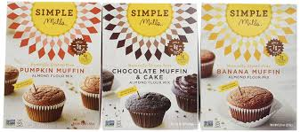 Cake Mix And Pumpkin Muffins by Amazon Com Simple Mills Naturally Gluten Free Almond Flour
