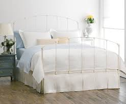 Collection in White Iron Headboard Rutherford Bed Charles P Rogers