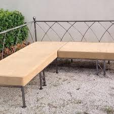 canapés et fauteuils en fer forgé fabrication artisanale villa