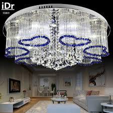 kreative wohnzimmer deckenleuchte schlafzimmer le romantische atmosphäre kristall deckenleuchten led hochwertigen licht