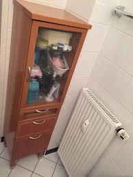 ikea badezimmer schrank stenskär