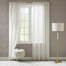 leinenstruktur ösenvorhang gardine mit ösen wohnzimmer
