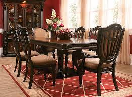 Adorable Cortland Place 7 Pc Dining Set Brown Raymour Flanigan And Room Sets