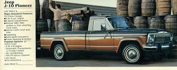 100 Pioneer Trucks 1983 Jeep J10 Pickup Truck Jeep Pickup Pickup