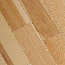 Wire Brushed Natural Hickory 3 8 In T X 5 Wide