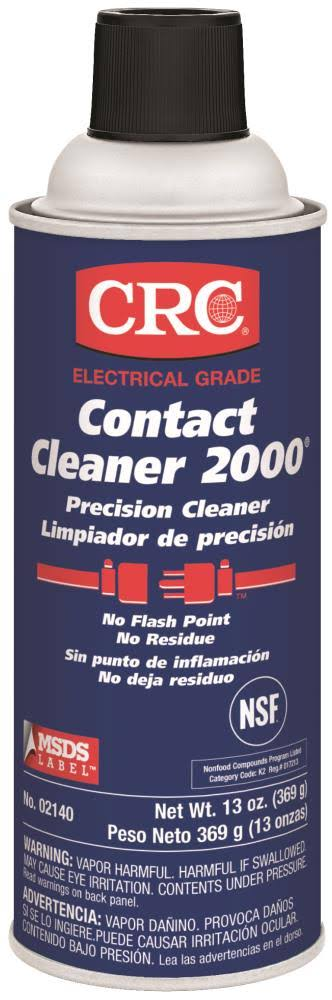 CRC Contact Cleaner 2000 Liquid Precision Cleaner - 13oz