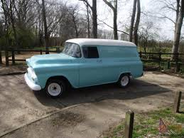 1959 Chevy Apache Panel Van