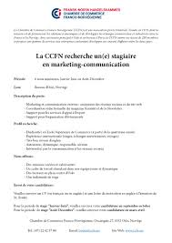 description d une chambre en anglais ccfn offre de stage marketing communication chambre de commerce