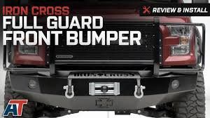 2015-2017 F150 Iron Cross Full Guard Front Bumper Review & Install ...