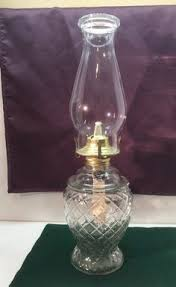 Lamplight Farms Oil Lamp Chimney by Vintage Glass Wood Brass Liquor Dispenser Spigot Scotch Bar