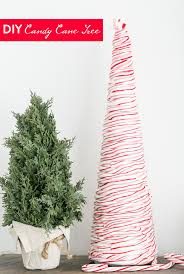 If Youre Feeling Crafty And Festive Gonna Love This DIY Candy Cane Christmas Tree Did You Know Can Heat Canes To A Pliable Consistency
