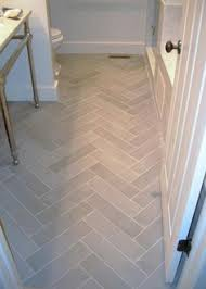something about white marble herringbone tile if i would