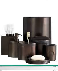 Oil Rubbed Bronze Bathroom Accessories by Oil Rubbed Bronze 5 Piece Bathroom Accessory Set Bronze Bathroom