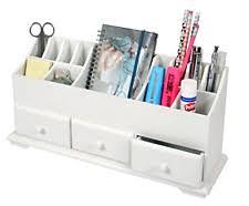 wooden desk tidy home furniture u0026 diy ebay