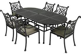 Metal The most durable of outdoor furniture