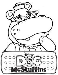 Doc Mcstuffins Coloring Pages Printable