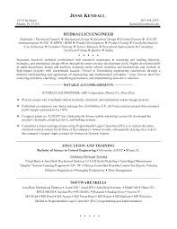 Mechanical Engineer Resume Examples Objective Sample Doc India