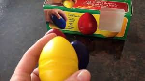 Crayola Bathtub Crayons Refill by My First Crayola Egg Shaped Crayons Review Youtube