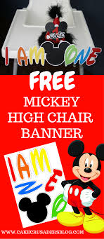 HOW TO MAKE A Mickey Mouse High Chair Banner With Free ... Minnie Mouse Room Diy Decor Hlights Along The Way Amazoncom Disneys Mickey First Birthday Highchair High Chair Banner Modern Decoration How To Make A With Free Img_3670 Harlans First Birthday In 2019 Mouse Inspired Party Supplies Sweet Pea Parties Table Balloon Arch Beautiful Decor Piece For Parties Decorating Kit Baby 1st Disney