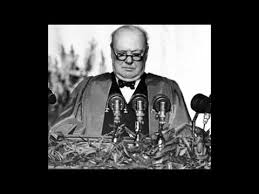 5th march 1946 churchill makes his iron curtain speech in