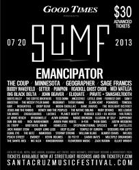 Kent Pumpkin Run 2013 Results by Santa Cruz Music Festival Scmf W Emanciptor The Coup