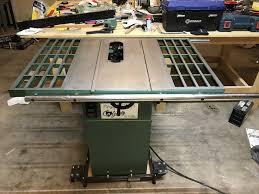 Grizzly 1023 Cabinet Saw by G1022 Table Saw Restoration By Lucaswoods Lumberjocks Com
