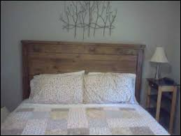 ana white reclaimed wood farmhouse style headboard queen size