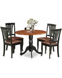 DLAV5 LC 5 PC Dublin Kitchen Table Set Dining And 4 Chairs
