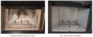 Refractory Panels SweepMasters Professional Chimney Services