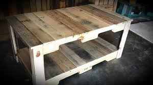How To Make A Wood Pallet Coffee Table Diy Reclaimed Home Pictures