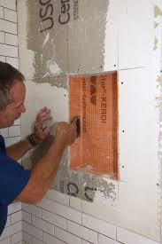 Unmodified Thinset For Glass Tile by Tiling A Shower Niche Jlc Online Tile Shower