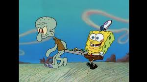 The Krusty Krab Pizza Is For You And Me