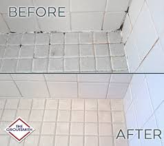 tile re grouting services oklahoma city groutsmith okc