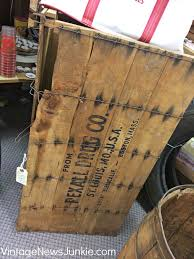 Antique Drug Store Shipping Crate