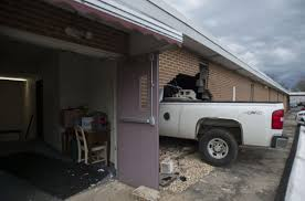 100 Church Truck Police Plows Into Bedford Church Narrowly Missing Pastor