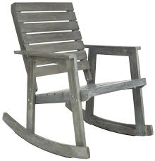 FOX6702A Outdoor Rocking Chairs, Rocking Chairs - Furniture By Safavieh