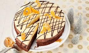 schoko orangen torte