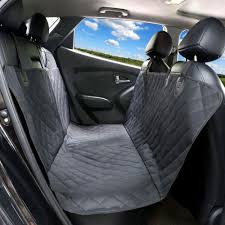 TIROL Luxury Black Waterproof & Nonslip Car Pet Seat Cover Hammock ... Waterproof Dog Pet Car Seat Cover Nonslip Covers Universal Vehicle Folding Rear Non Slip Cushion Replacement Snoozer Bed 2018 Grey Front Washable The Best For Dogs And Pets In Recommend Ksbar Original Cars Woof Supplies Waterresistant Full Fit For Trucks Suv Plush Paws Products Regular Lifewit Single Layer Lifewitstore Shop Protector Cartrucksuv By Petmaker Free Doggieworld Xl Suvs Luxury