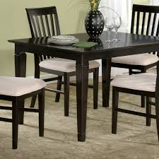 Deco 48 X 36 Solid Top Dining Table W Tapered Legs