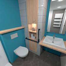 modernes badezimmer noria baudet sa gips polyester