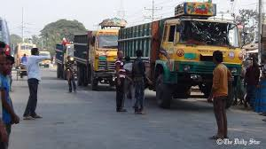 100 Truck Strike Business Hit Hard As Truck Lorry Strike Continues In Northern