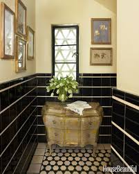 Leopard Bathroom Wall Decor by Powder Room Decorating Ideas Powder Room Design And Pictures