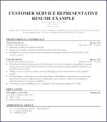 Call Center Resume Sample Customer Service Representative Vice Spectacular Objective For Your