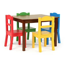 Discover 5-Piece Wood Kids Table & Chairs Set In Dark Walnut/Primary Kids Study Table Chairs Details About Kids Table Chair Set Multi Color Toddler Activity Plastic Boys Girls Square Play Goplus 5 Piece Pine Wood Children Room Fniture Natural New Hw55008na Schon Childrens And Enchanting The Whisper Nick Jr Dora The Explorer Storage And Advantages Of Purchasing Wooden Tables Chairs For Buy Latest Sets At Best Price Online In Asunflower With Adjustable Legs As Ding Simple Her Tool Belt Solid Study Desk Chalkboard Game