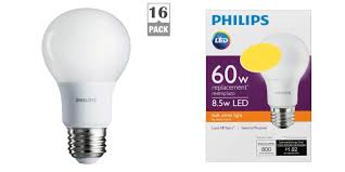 green deals philips 16 pack 60w a19 led light bulbs 27 prime