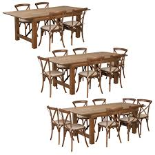 7 Ft Antique Rustic Farm Table Set With 4, 6, Or 8 Cross Back Chairs And  Cushions Raven Farmhouse 6piece Ding Set The Dump Luxe Fniture 132 Inch Round Satin Tablecloth Black 6 Foot Farm Table Kountry Kupboards With 8 Chairs Foot Cedar Table Steves Creations Correll 30w X 72l Ft Counter Height 36h 34 Top Highpssure Laminate Folding Lifetime Foldinhalf White Granite 6foot Plastic Traing 2 Trapezoidal Back Stack Chairs Details About Portable Event Party Indoor Outdoor Weatherproof Buffet New Vintage Oak Refectory Kitchen And In Brnemouth Dorset Gumtree Banquet Seating Decor How To Up For Holiday Parties Lerado 6ft Foldin Half Rect Table Raptor Concept Store