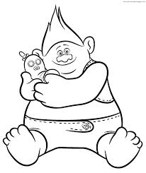 Trolls Purpurina Colorear Erstaunlich Dibujo Para Colorear De Mike